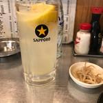 もつ焼きばん - レモンサワー! ★★★★☆