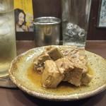 三鉢屋 - 豚スペアリブ黒酢煮、とろっとろで旨っ!!