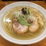 らーめん一宇 - 塩らーめん(750円)