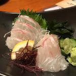 海鮮釜居酒 花火 - 鯛のお造り