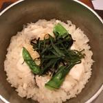 海鮮釜居酒 花火 - 瀬戸内 しそ鯛釜飯