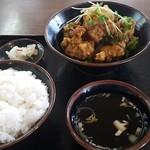 みんぱい - 油淋鶏定食