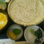 京そば処 志乃﨑 - 料理写真:ざるそば定食(通常価格830円)