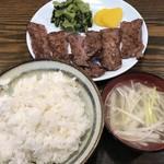 たん焼専門店 高甲 - 料理写真:【2017.5.1】ランチのたん焼き定食¥1200
