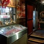 謳歌屋仁作 - 2階の厨房前の様子