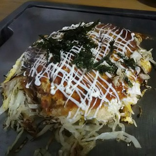 御幸 - 料理写真:広島焼きスペシャル(そば)