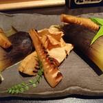 魚貝三昧 げん屋 - タケノコの醤油焼き