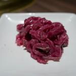 近江牛一頭買い 焼肉 囘 - レアステーキユッケ