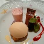 リストランテ 濱崎 - デザート盛り合わせ✴✴これは美味しい♪