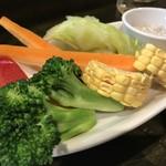 スペインバル ピー - 野菜スティック!