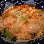 味の民芸 - 料理写真:和風あんかけうどん