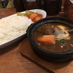 ホットスプーン - 厚切り牛タンカレー