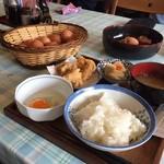 弁天の里 - 定食 大   ¥450  +から揚げ¥150