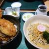 外苑前 増田屋 - 料理写真:天丼+冷やしたぬき