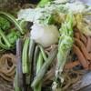 そば処 平石亭 - 料理写真:春のぶっかけそば