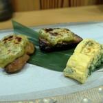 片町 弥ひろ - スズキの木の芽バター焼き