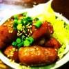 もつ焼 豚一 - 料理写真:壺漬け白コロホルモン