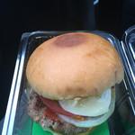 Bell Beach - 料理写真:佐世保バーガーセット ¥780のバーガー。