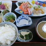 いろり じねん - つみ草定食(その3)