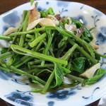 いろり じねん - つみ草定食(その1)