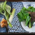 いろり じねん - つみ草定食(その2)