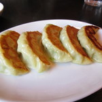 自家製麺 名無し - H28.12 焼餃子¥250