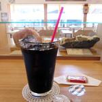 cafe クリスタル - ドリンク写真:アイスコーヒー450円(2017/4月)