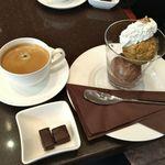 ラ・メゾン・デュ・ショコラ  - アイスクリーム(チョコレート・キャラメル)