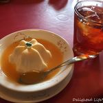シャポー・ルージュ - ババロアとお飲物のセット(540円税込)