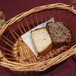 66638999 - ローズマリーのパン&黒ごまのパン【2017.4】