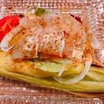 長崎イタリアン ババリストランテ - スズキのカルパッチョ