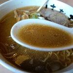 花丸 - 純すみ系のスープ