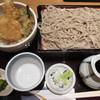 つづらお  - 料理写真:ランチの天丼と蕎麦セット
