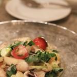 オシノ - 料理写真: 墨イカのマリネ