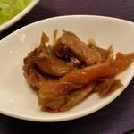 中国料理 桂林 - セットのザーサイ