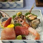 堂ヶ島温泉ホテル - 料理写真:お刺身