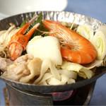 堂ヶ島温泉ホテル - 海鮮鍋