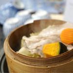 堂ヶ島温泉ホテル - 蒸し野菜