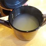 醍醐 - 蕎麦湯