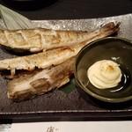 康家 - 「北海道産 氷下魚一夜干し (680円)」