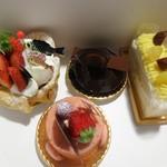 パティスリーマルシュ - 料理写真:お買い上げ4種