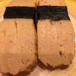 回転寿司がんこ - 玉子☆★★☆分厚くていい