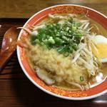 初雪食堂 - 天ぷら中華!650円