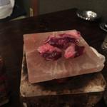 あぶり渋屋 - 牛ハラミ岩塩焼き