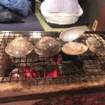 あぶり渋屋 - ハマグリ炙り