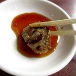 焼肉レストラン井東 - 甘辛2種類のタレで!