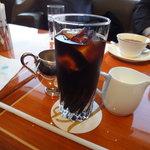 クラウンラウンジ - セットのドリンク(アイスコーヒー)