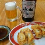 66651031 - 餃子5個280円 ビール500円