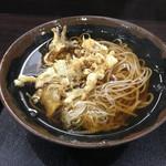 峠の蕎麦 - 料理写真:舞茸天そば(440円)