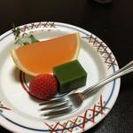 人丸花壇 - デザート